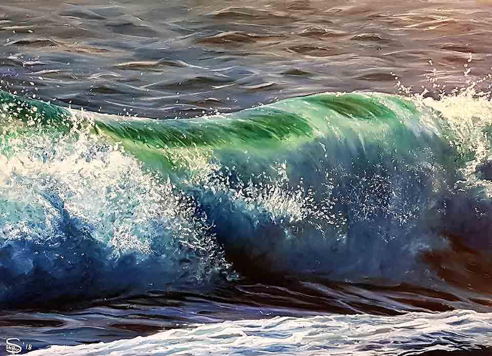 Susanne Stoffer: Die große Welle