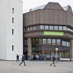 50 Jahre TU Dortmund · Universitätsbibliothek · Außenansicht
