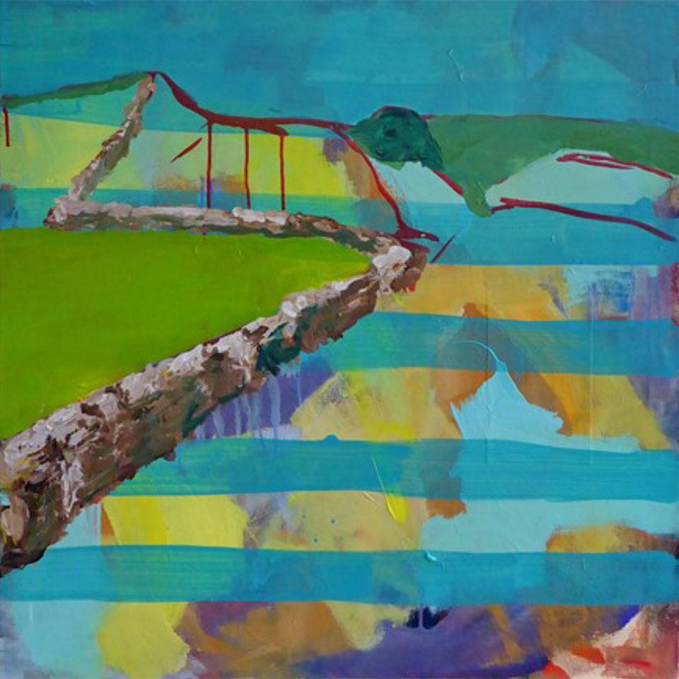 Bärbel Rehberg-Beckers • Spanische Landschaft 2