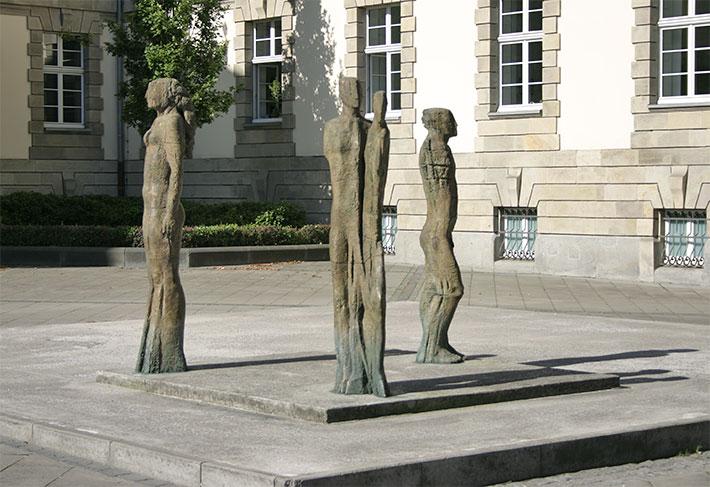 Eberhard Linke • Skulptur Gerichtsplatz