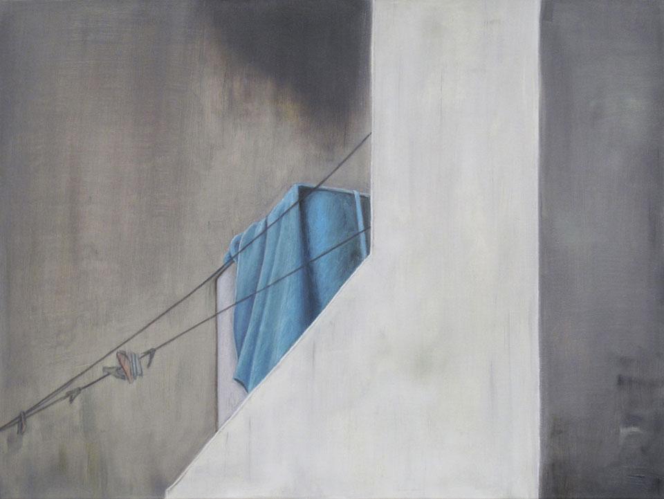 Rosa Fehr-von Ilten • Blaues Tuch