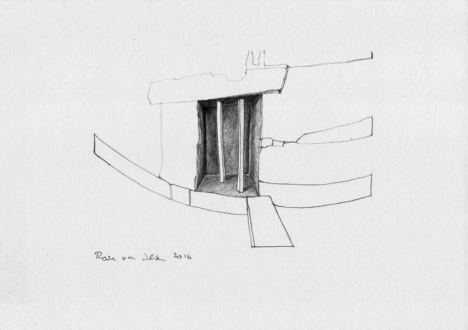 Rosa Fehr-von Ilten • Torhaus • DIN A4