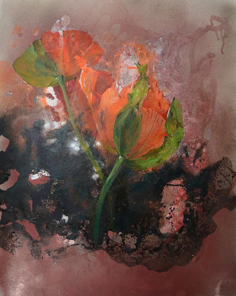 Nicole Hövelmann • ohne Titel • 60 x 50 cm