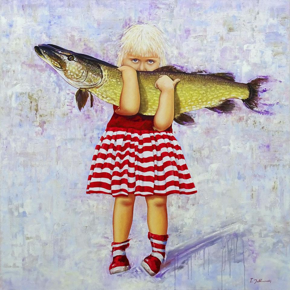 Igor Jablunowskij • Beute • 130 x 130 cm