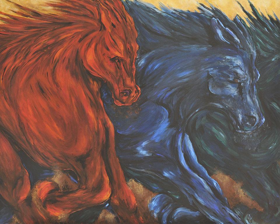 Katrin Oehlschlegel • Gemälde