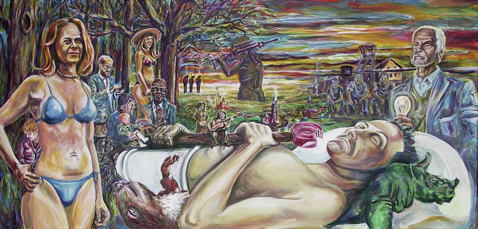 Franz Ott • Der ewige Schlaf