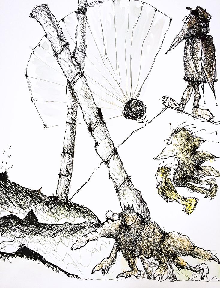 Claudia Karweick: Zeichnung