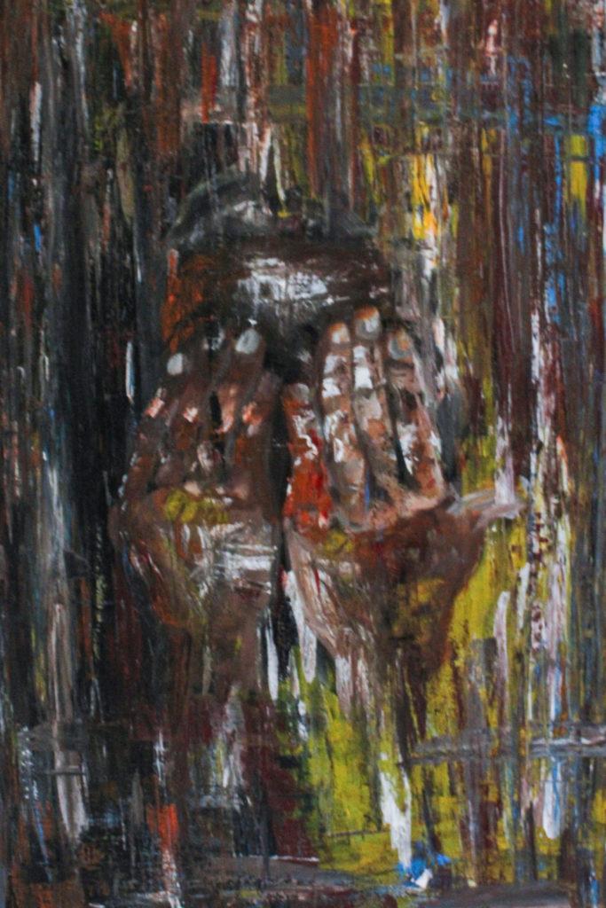 Romain Nguimeya · Die Angst