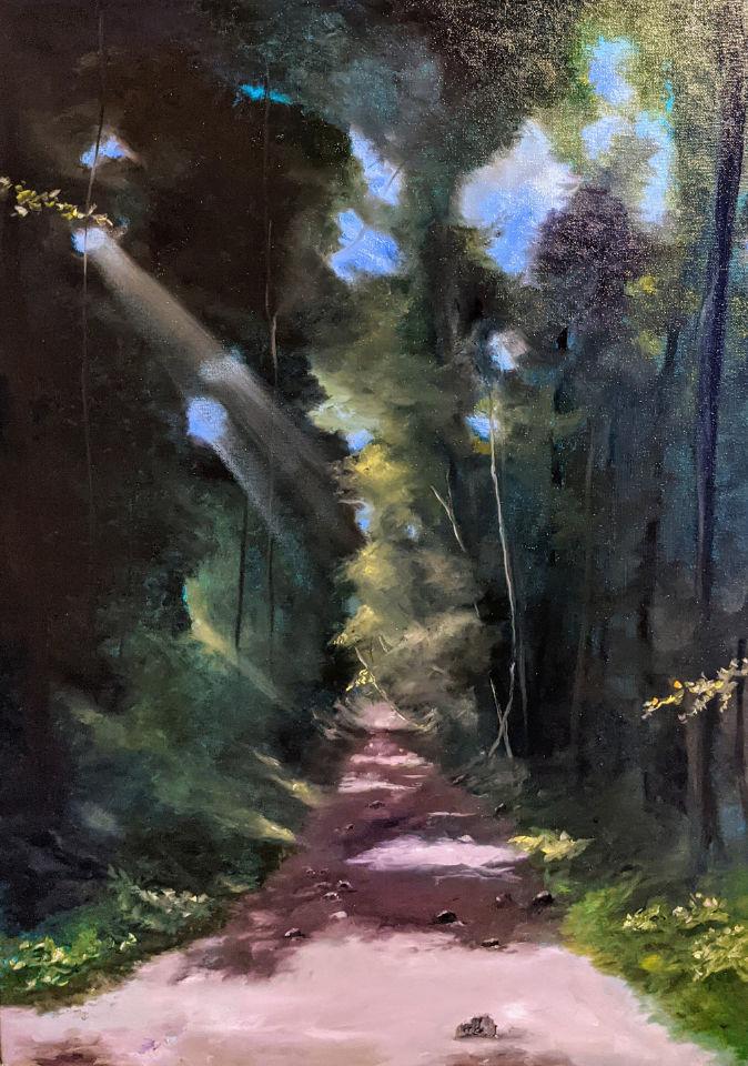 Diana Knepper · Der Pfad mitten im Wald