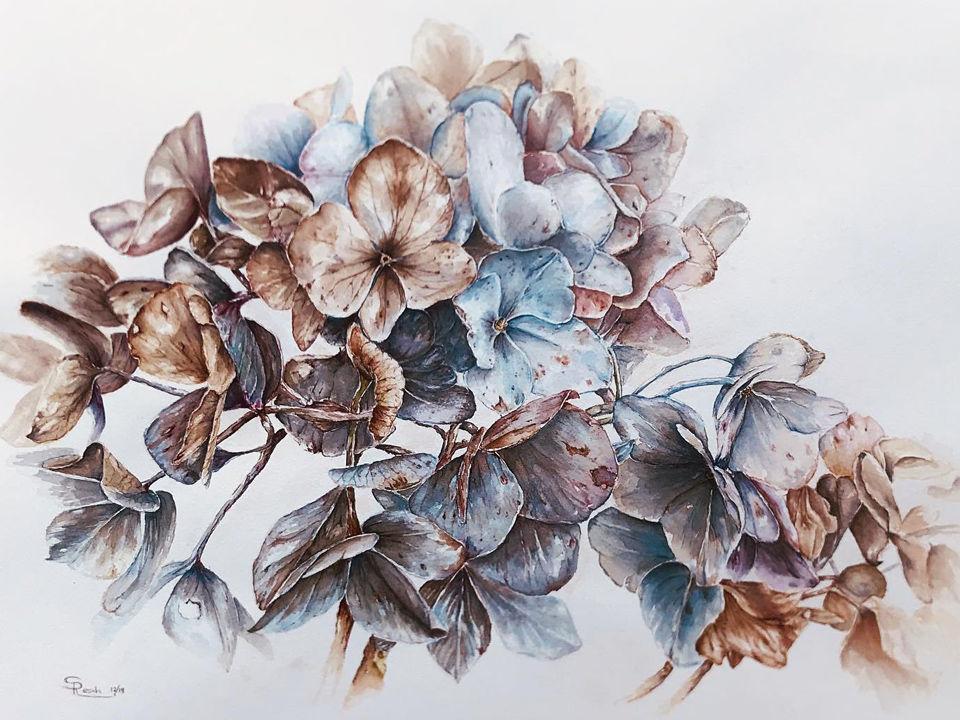 Sabine Resch · Aquarelle